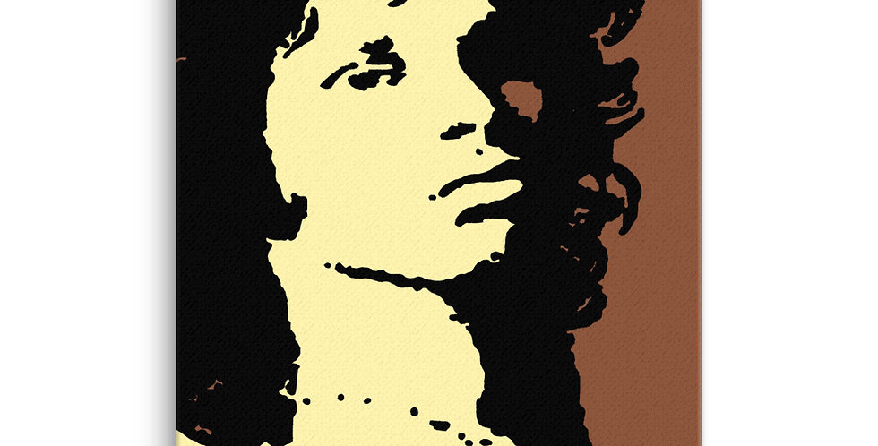 """MR MOJO RISON (Pop)"" Canvas Print"
