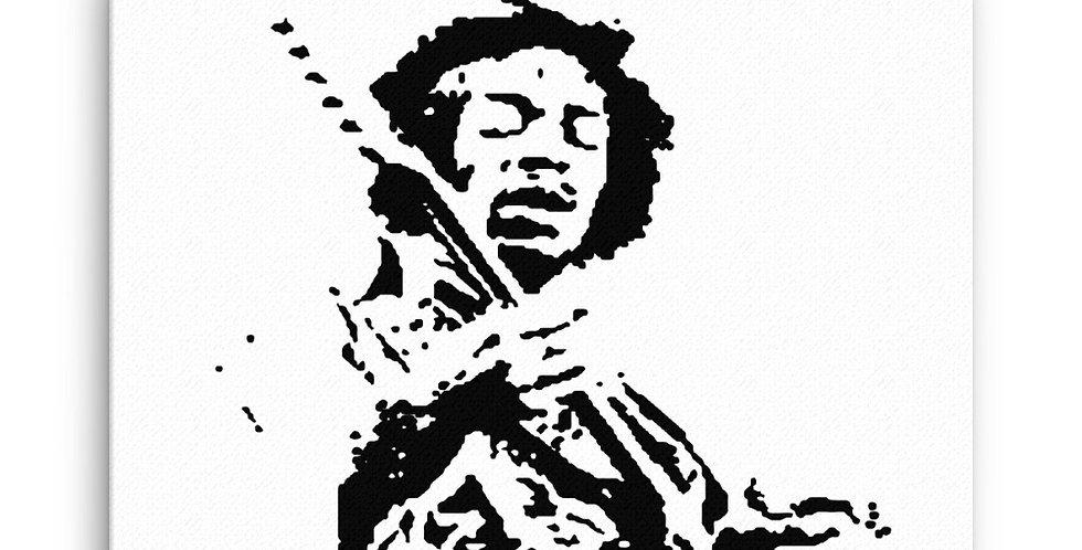 """Hendrix"" Canvas Print"