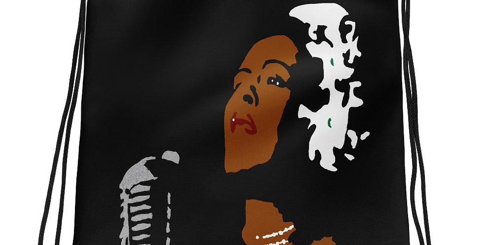 """Lady II (Jazzed)"" Drawstring Bag"