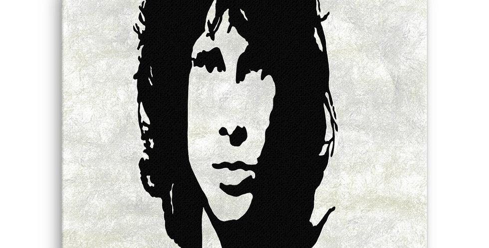 """Jim (Graffiti)"" Canvas Print"