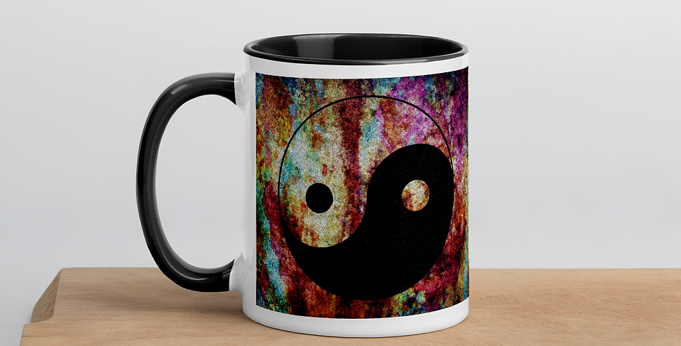 """Yin-Yang (Abstract Graffiti)"" Coffee Mug"