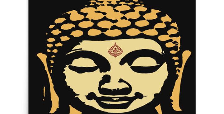 """Double Buddha"" Art Print"