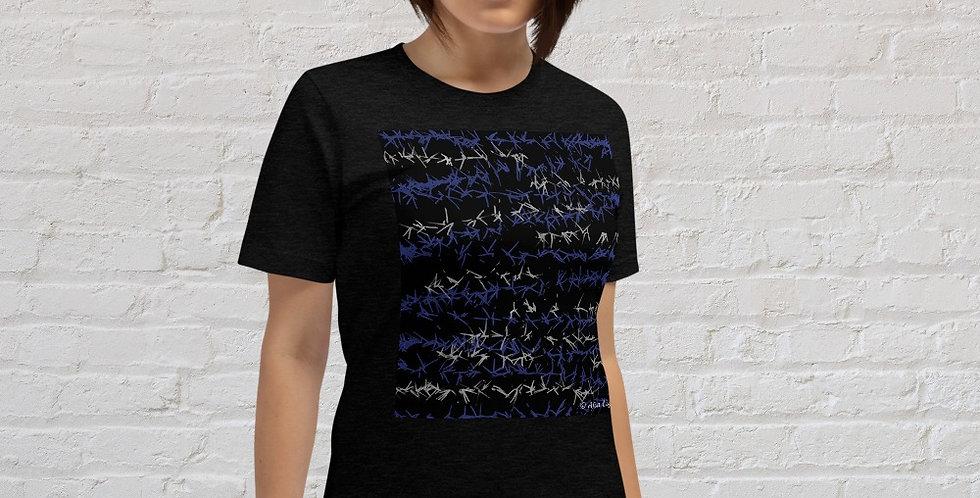 """Barbed Wire (Graffiti)"" Unisex T-Shirt"