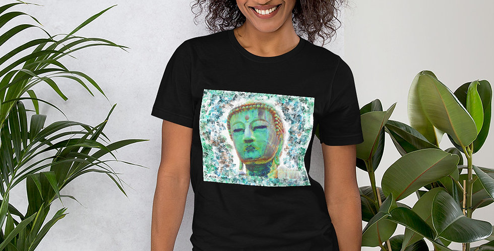 """Buddha (Weathered)"" Unisex T-Shirt"