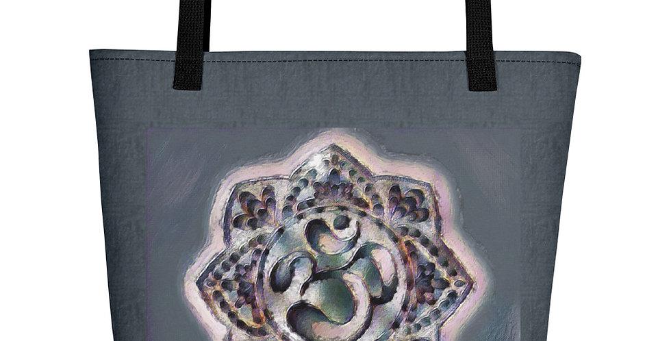 """""""Graffiti Om"""" Tote Bag"""