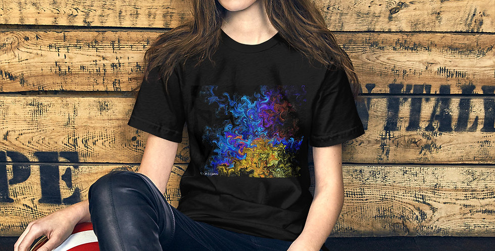 """Abstract Flame III"" Unisex T-Shirt"