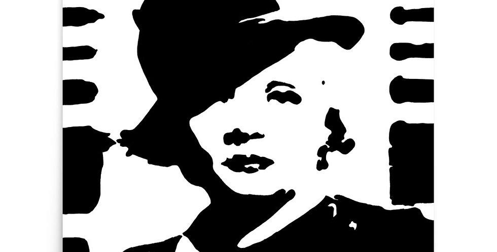 """""""Marlene II"""" Art Print"""