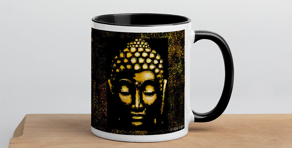 """Gold Buddha"" Coffee Mug"