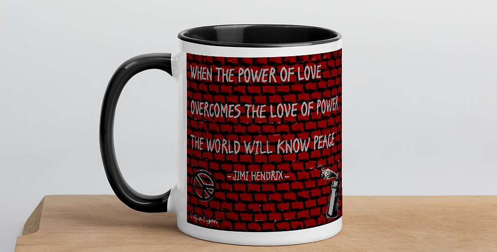 """Hendrix (Quote)"" Coffee Mug"
