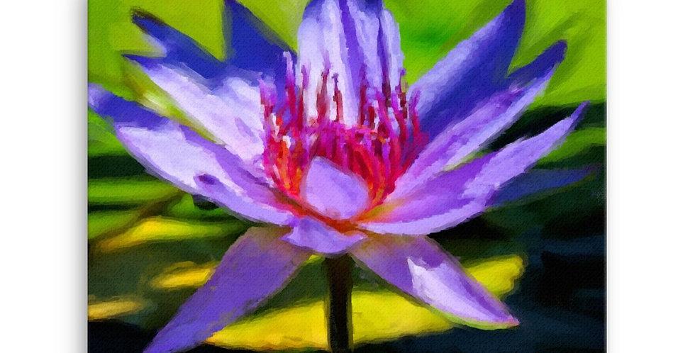 """Lotus XII"" Canvas Print"