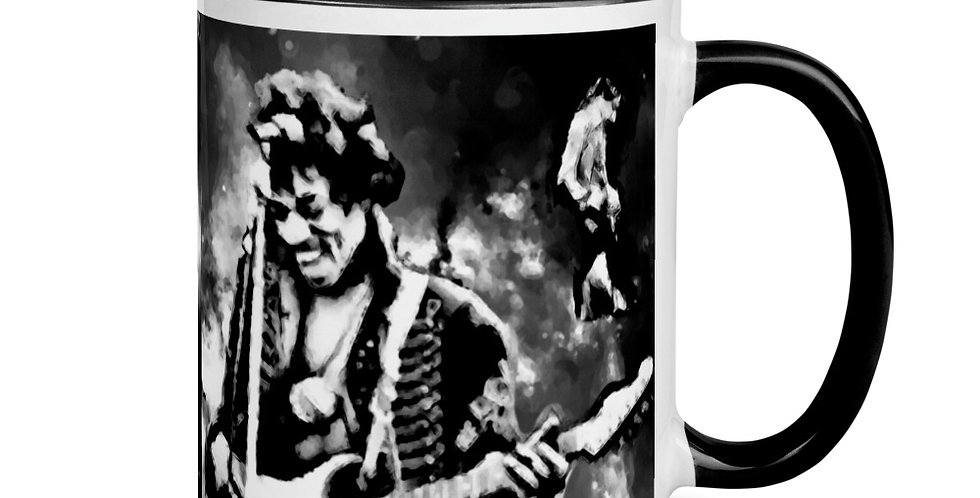 """Jimi (Shades Of Grey)"" Coffee Mug"