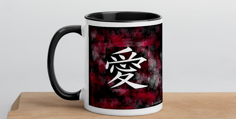 """""""Love (Splash Graffiti)"""" Coffee Mug"""