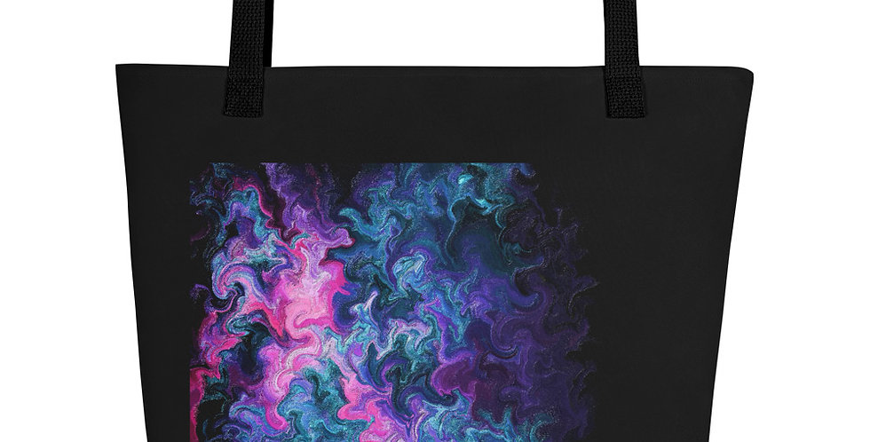 """Abstract Flame II"" Tote Bag"