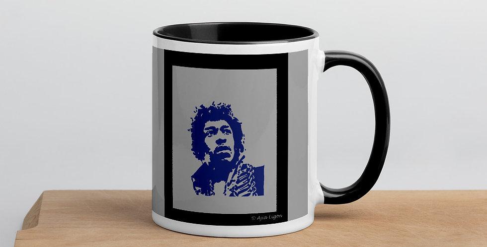 """Hendrix (Shades Of Blue)"" Coffee Mug"
