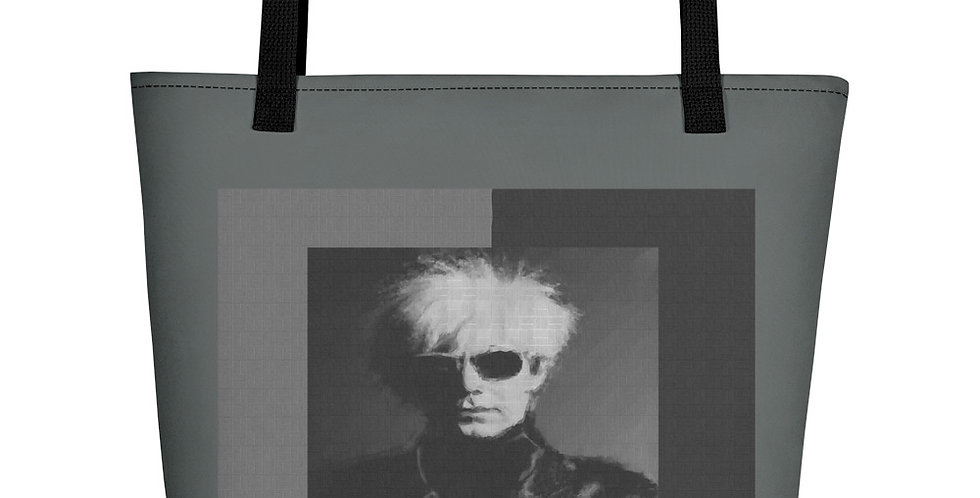 """Andy (Mural)"" Tote Bag"
