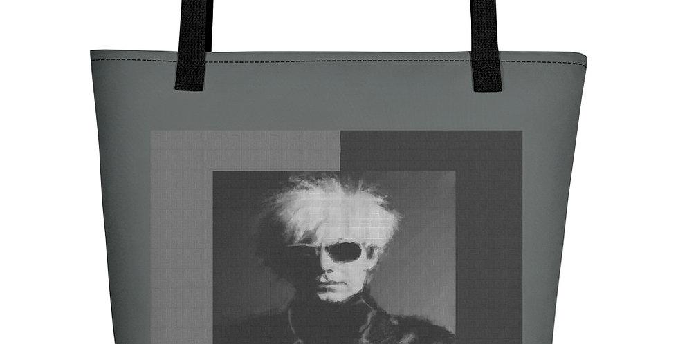 """""""Andy (Mural)"""" Tote Bag"""