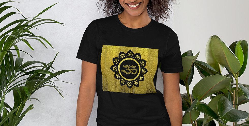 """""""Lotus Om (Gilded)"""" Unisex T-Shirt"""