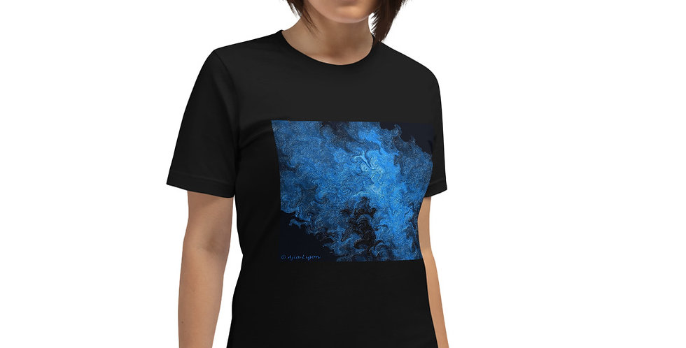 """Abstract Flame IV"" Unisex T-Shirt"