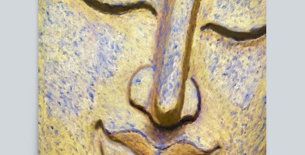 """Painted Buddha"" Art Print"