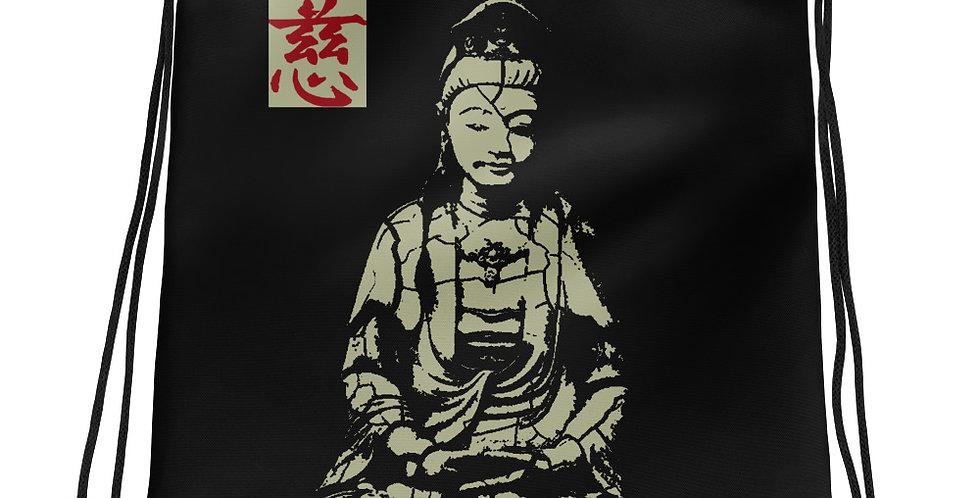 """""""Quan Yin (Stone)"""" Drawstring Bag"""