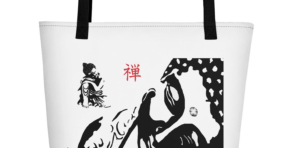 """Zen Buddhas"" Tote Bag"