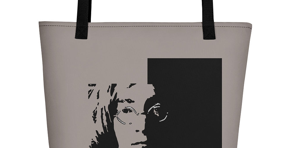 """Lennon II (Shadow)"" Tote Bag"