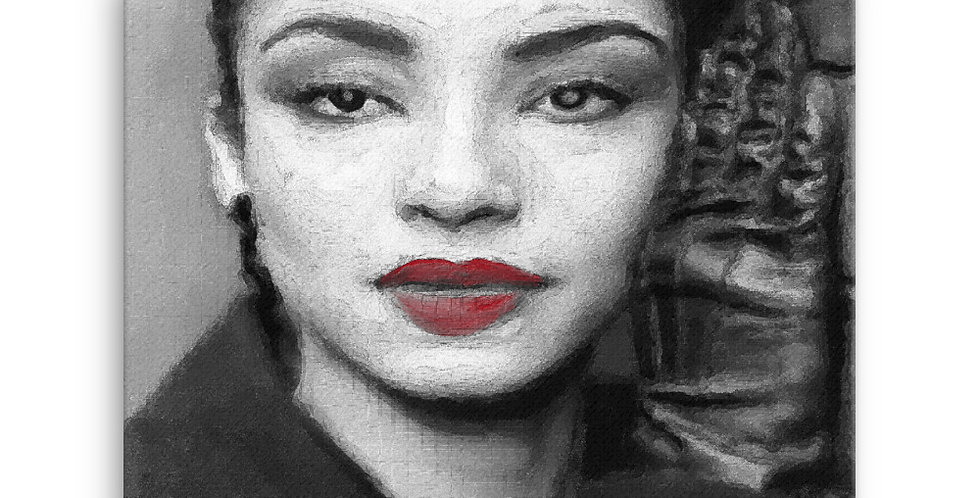 """Sade III"" Canvas Print"