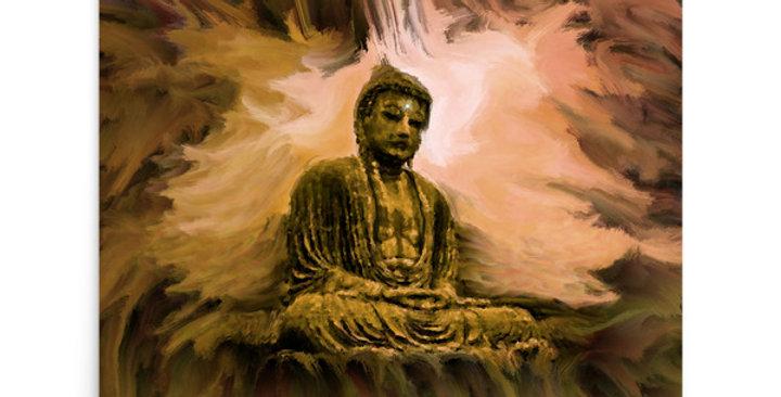 """Buddha Aura"" Art Print"