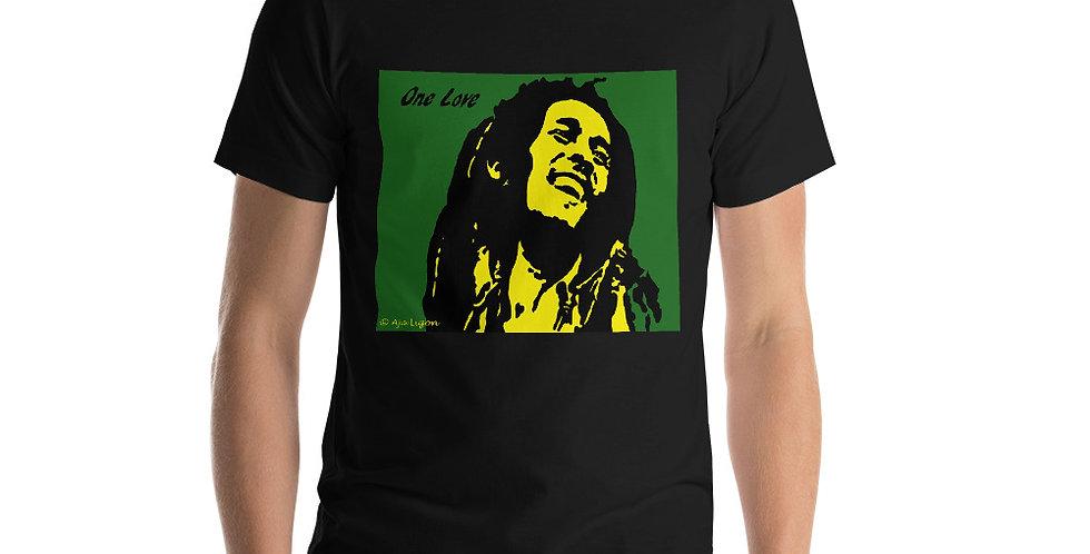 """One Love (Jamaica)"" Unisex T-Shirt"