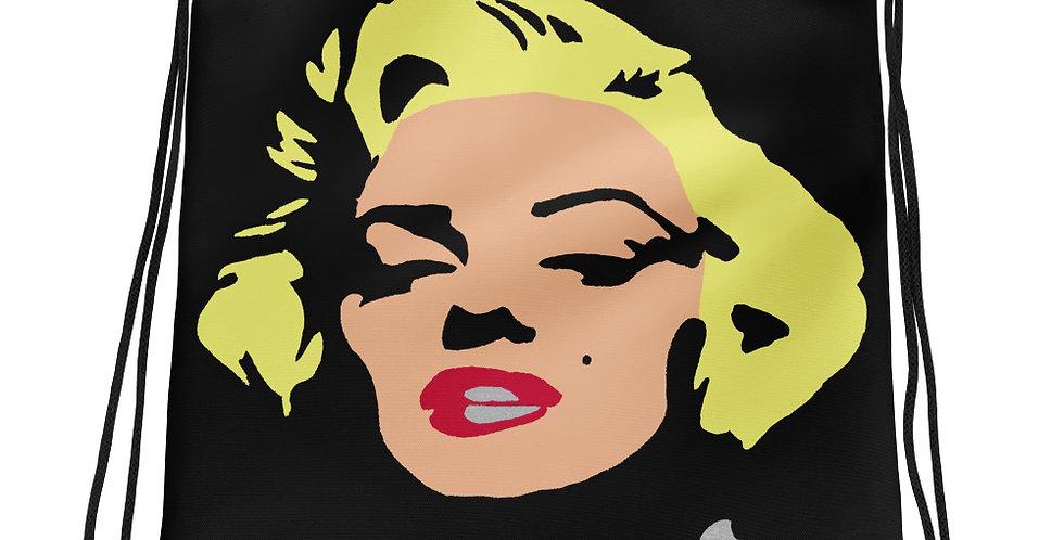 """""""Marilyn (Pop) II"""" Drawstring Bag"""