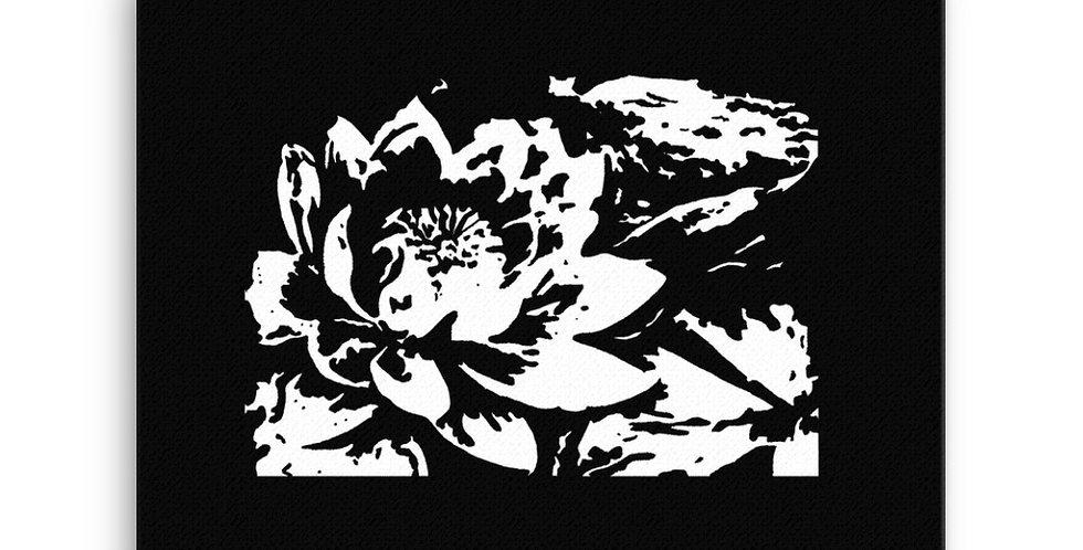 """Lotus Pond"" Canvas Print"