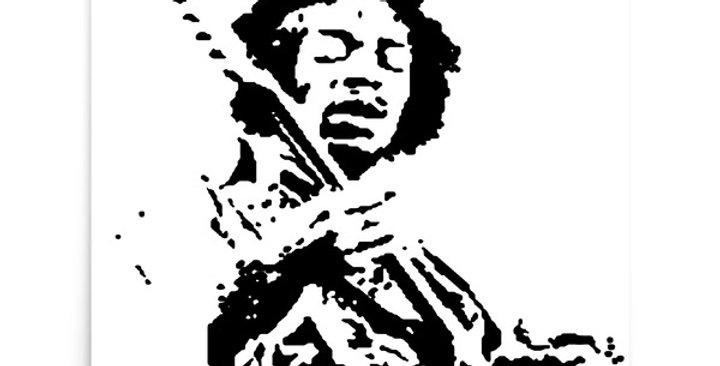 """Hendrix"" Art Print"