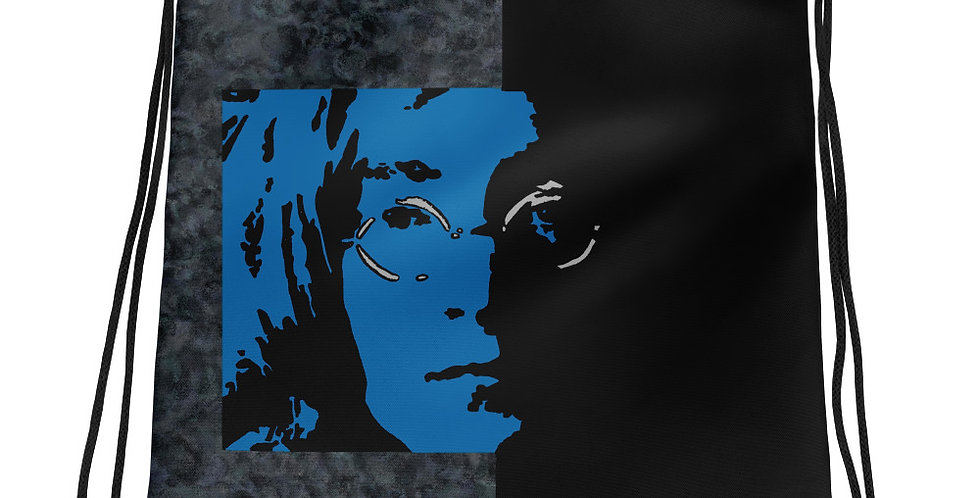 """Lennon II (Midnight)"" Drawstring Bag"