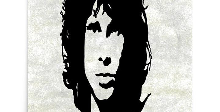 """""""Jim (Graffiti)"""" Art Print"""
