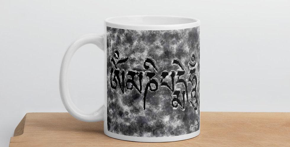 """Om Mani (Storm)"" Coffee Mug"