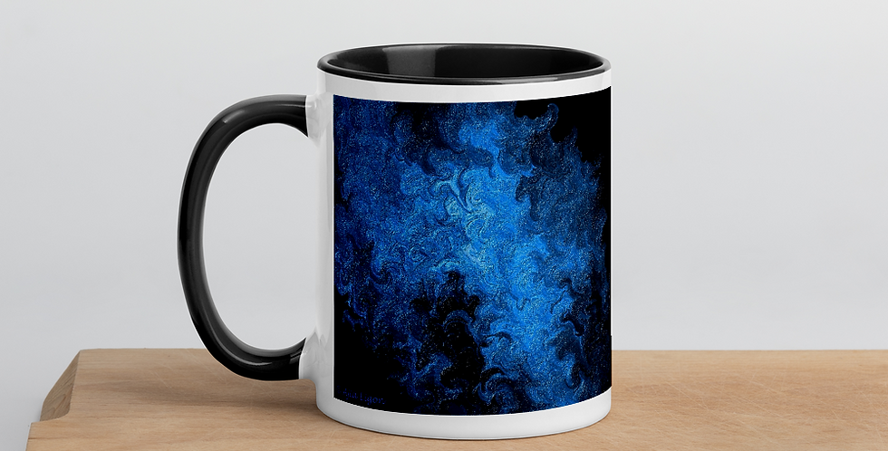 """Abstract Flame IV"" Coffee Mug"