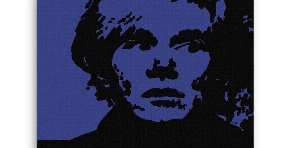 """""""Warhol (Midnight)"""" Canvas Print"""