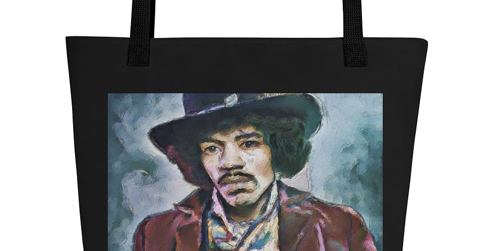 """Jimi (Vivid)"" Tote Bag"