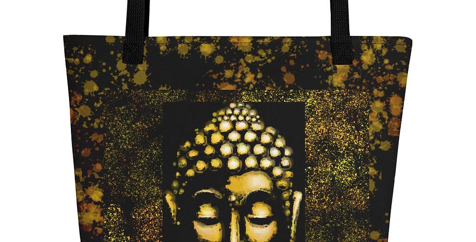 """Gold Buddha"" Tote Bag"