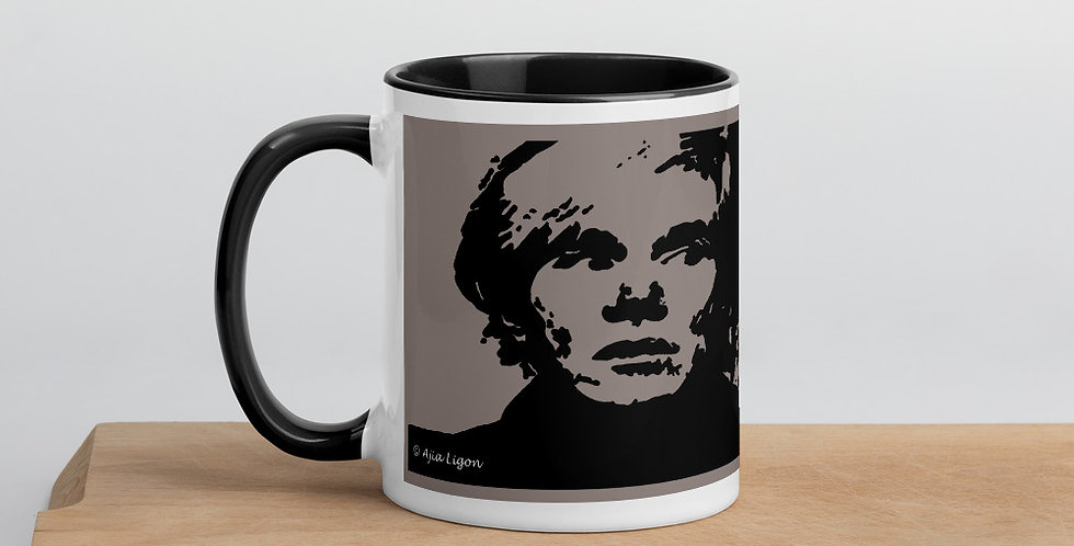 """Warhol (Shades Of Grey)"" Coffee Mug"