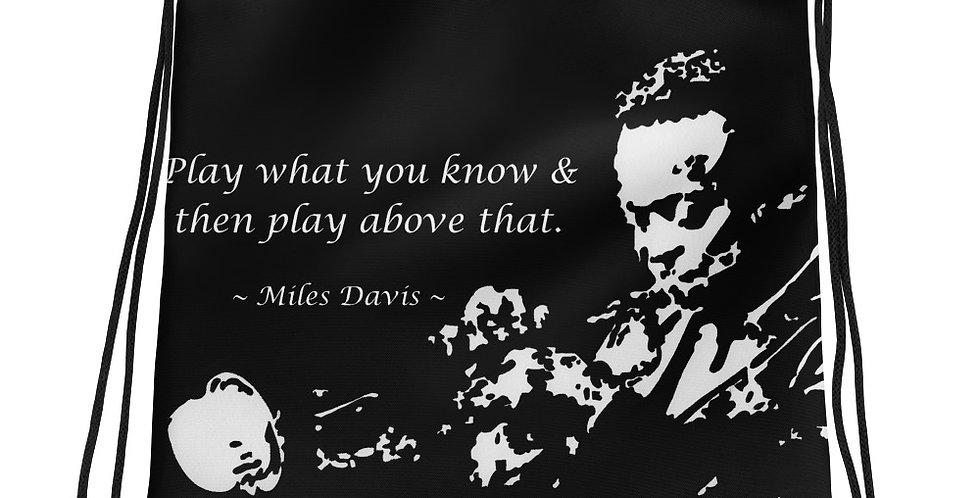 """""""Miles II"""" Drawstring Bag"""