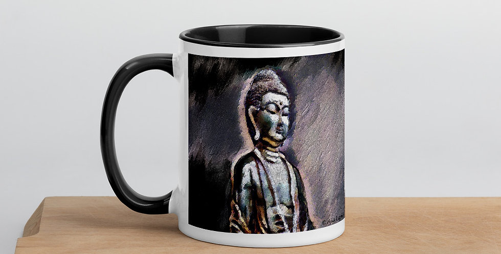 """""""Buddha (Shadows)"""" Coffee Mug"""