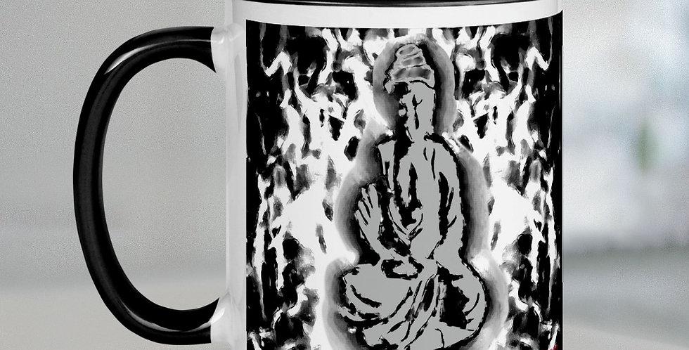 """Radiant Buddha (Graffiti)"" Coffee Mug"