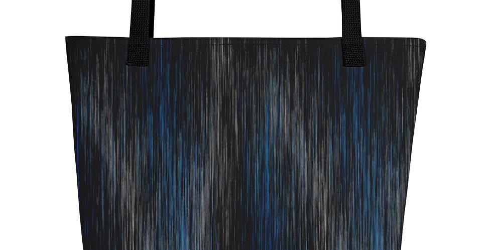 """Blue Rain"" Tote Bag"
