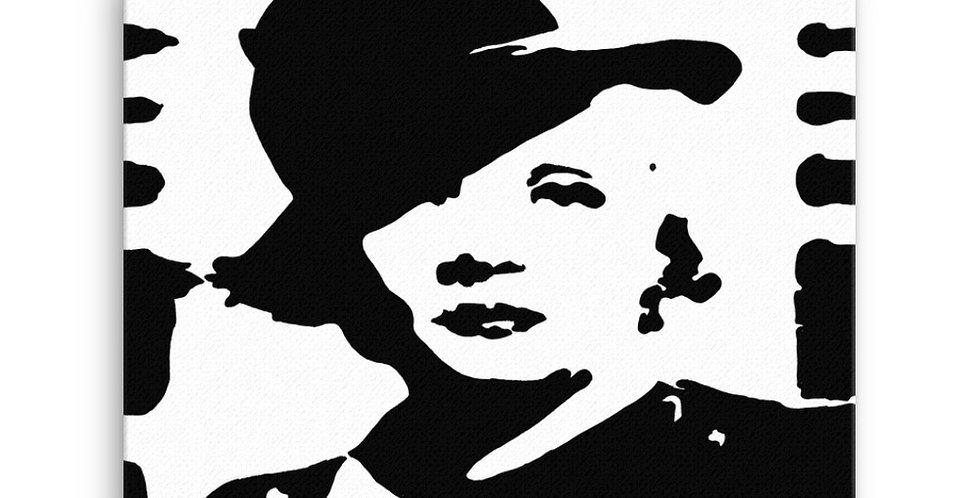 """""""Marlene II"""" Canvas Print"""