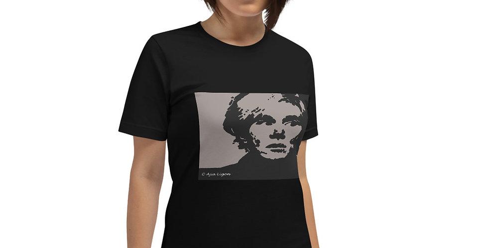 """""""Warhol (Shades Of Grey)"""" Unisex T-Shirt"""