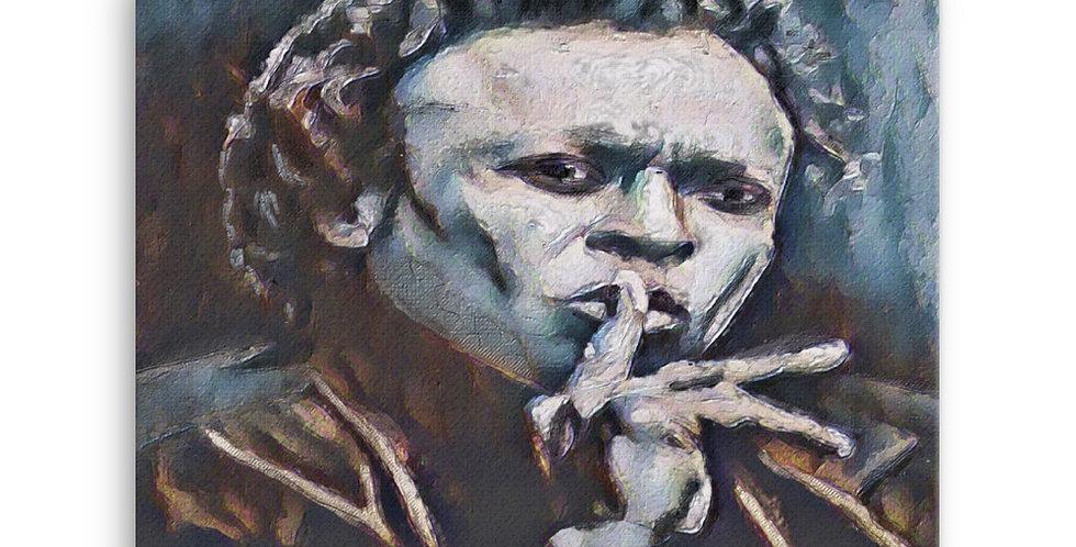 """Miles III"" Canvas Print"