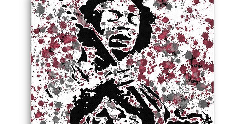 """Jimi (Splash)"" Canvas Print"
