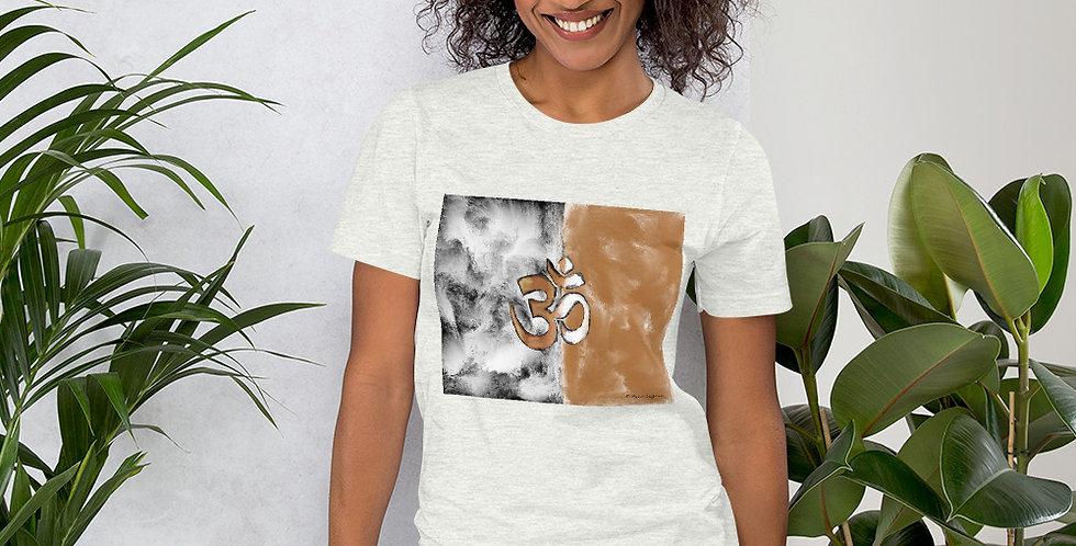 """""""Om (Terracotta Marble)"""" Unisex T-Shirt"""