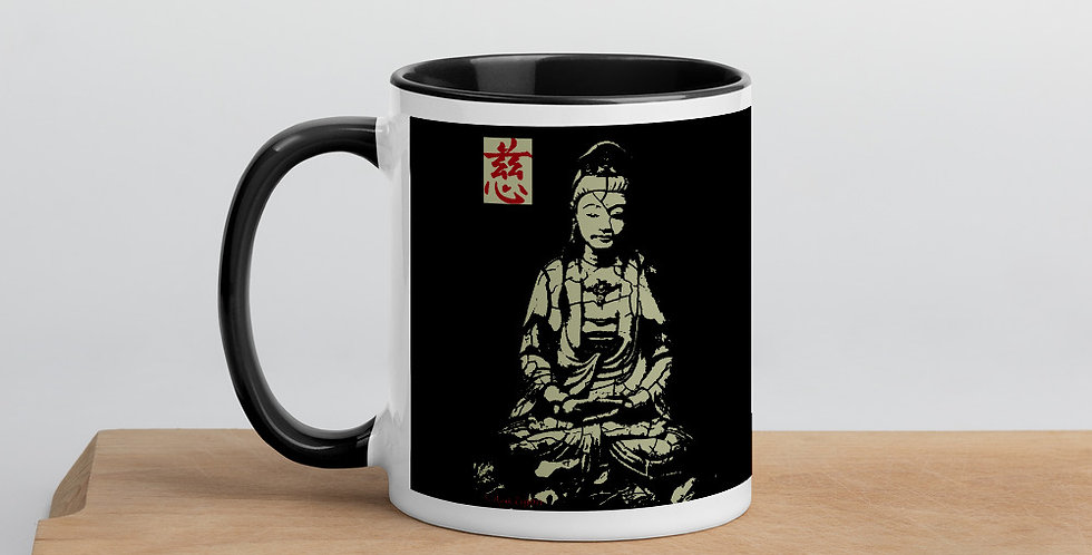 """""""Quan Yin (Stone)"""" Coffee Mug"""